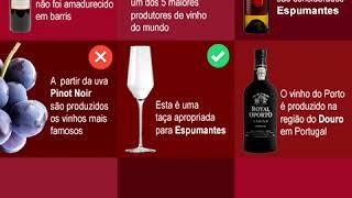 QUIZ - Teste os seus conhecimentos sobre vinhos